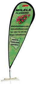 Milele Flowers banner
